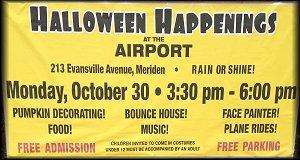 Airport Halloween Happenings