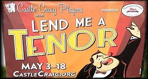 Castle Craig Players Presents Lend Me A Tenor