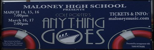 Maloney High School Presents Cole Porter's Anything Goes