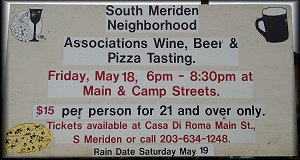 South Meriden Neighborhood Associations 2018 Wine, Beer, and Pizza Tasting