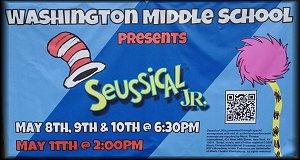 Washington Middle School Presents Seussical Jr